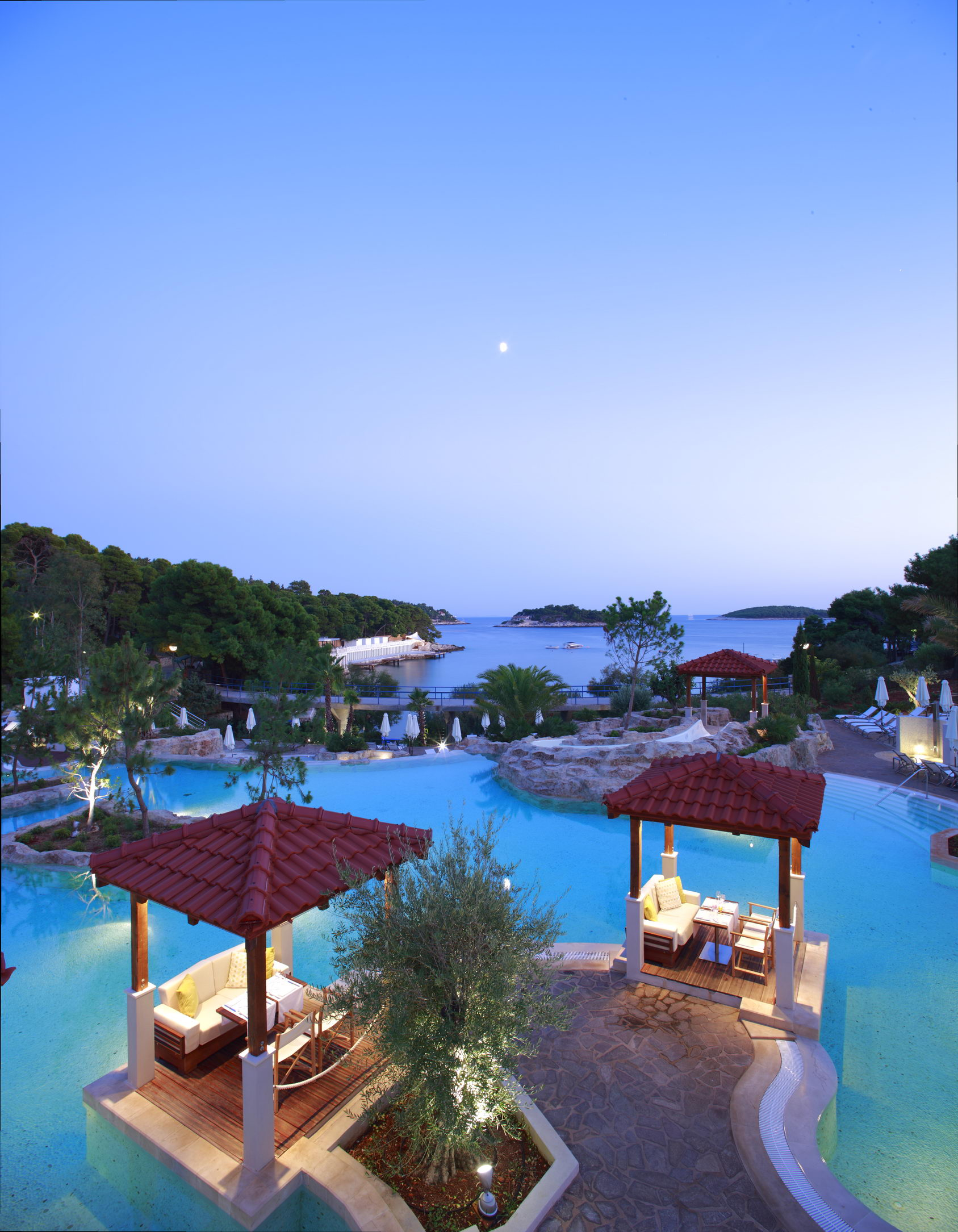 Amfora, Hvar Grand Beach Resort Picture Gallery