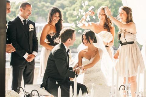 Heiraten am strand kroatien