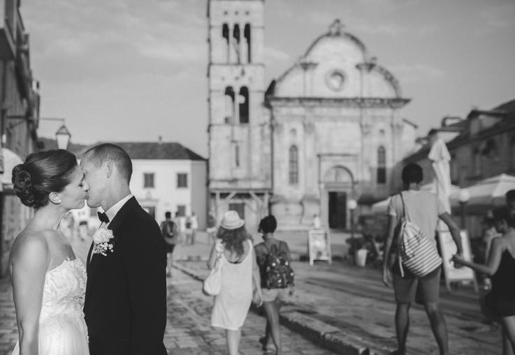 Destination Wedding in Hvar