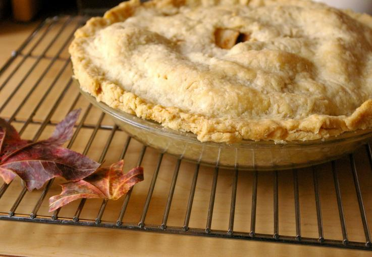 Autumn Apple Maraschino Pie