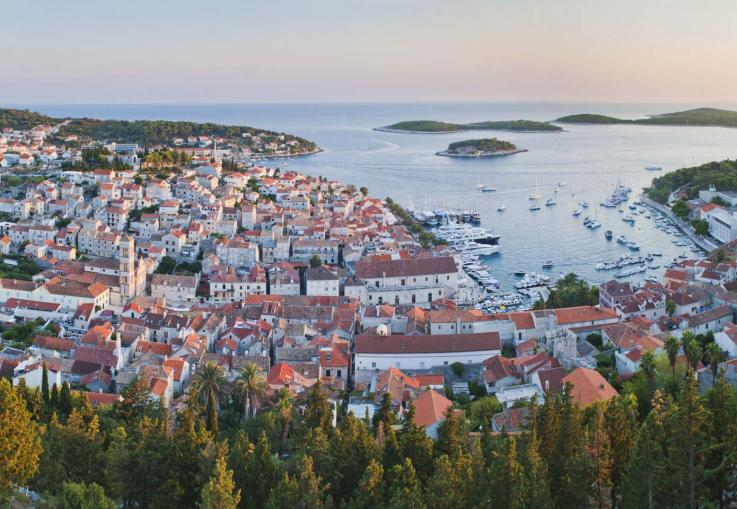 Hvar - island of the European carribean