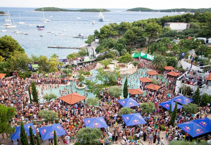 Ultra Europe Beach at Amfora Hvar Grand Beach Resort