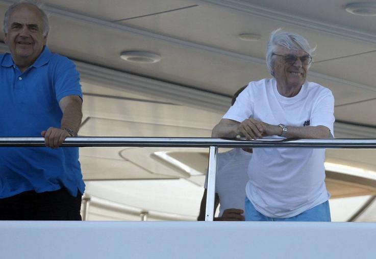 Bernie Ecclestone on Hvar