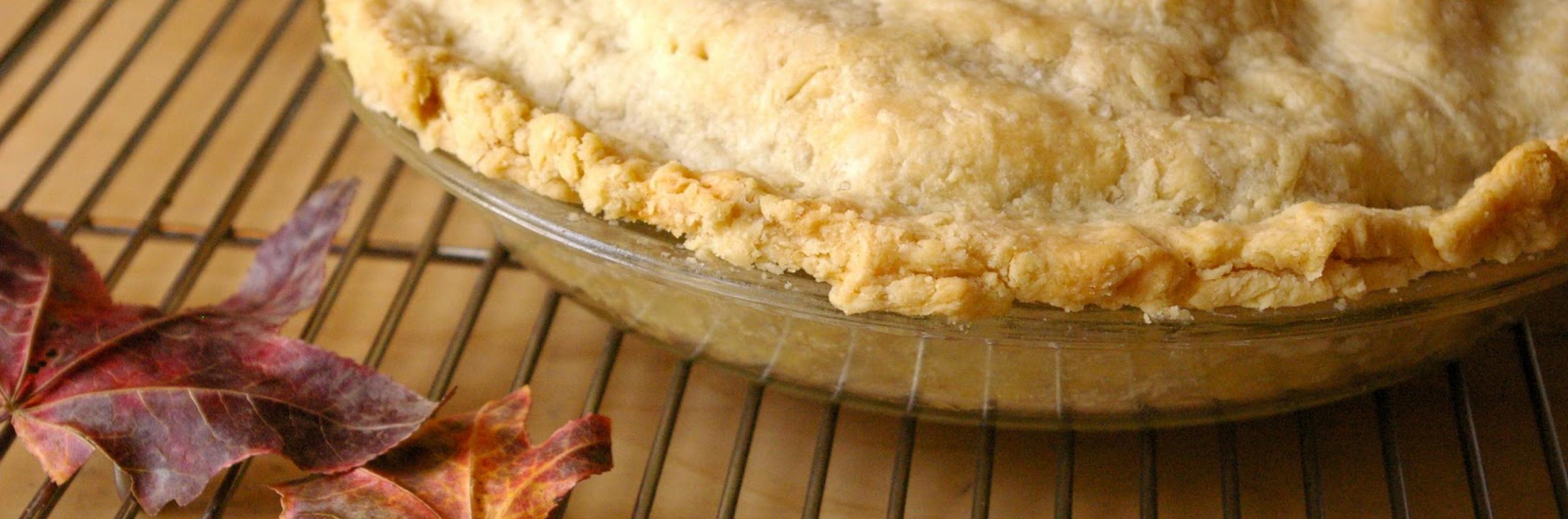 Autumn Apple Maraschino Pie