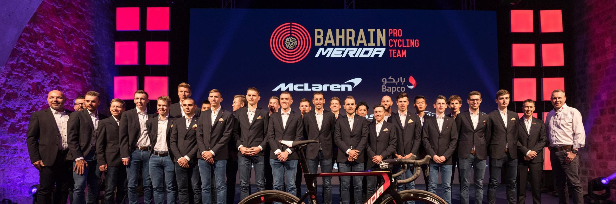 Photo credit: Team Bahrain Merida