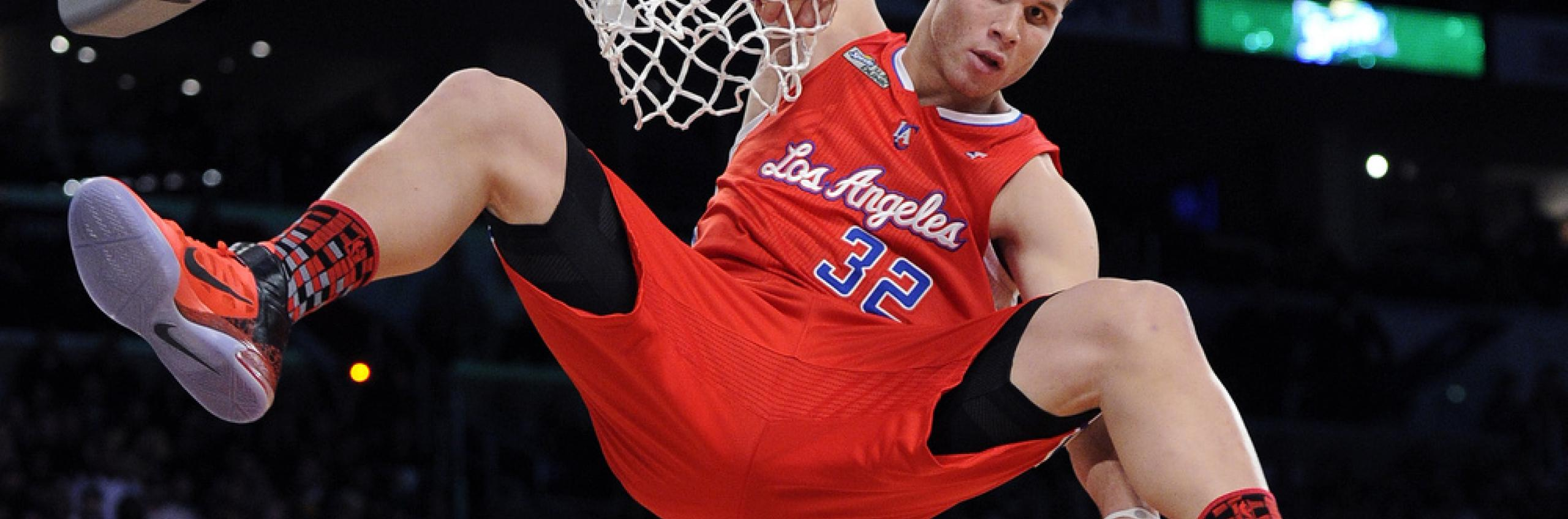 Los Angeles Clippers basketball player Blake Griffin