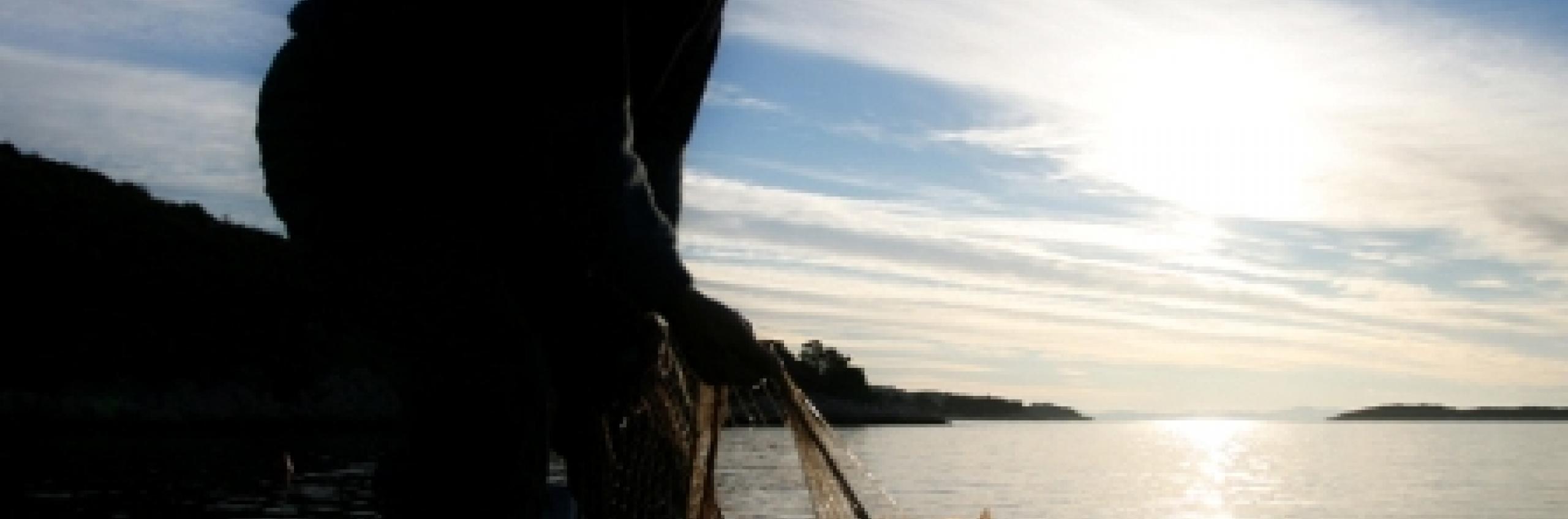 Fishing...where man meets the sea