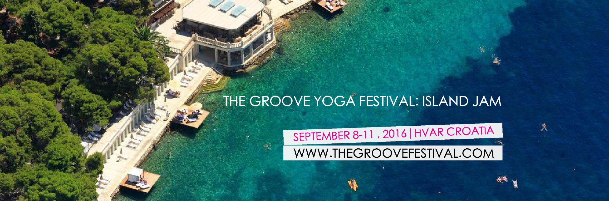 The Groove Yoga Festival at Amfora, hvar grand beach resort