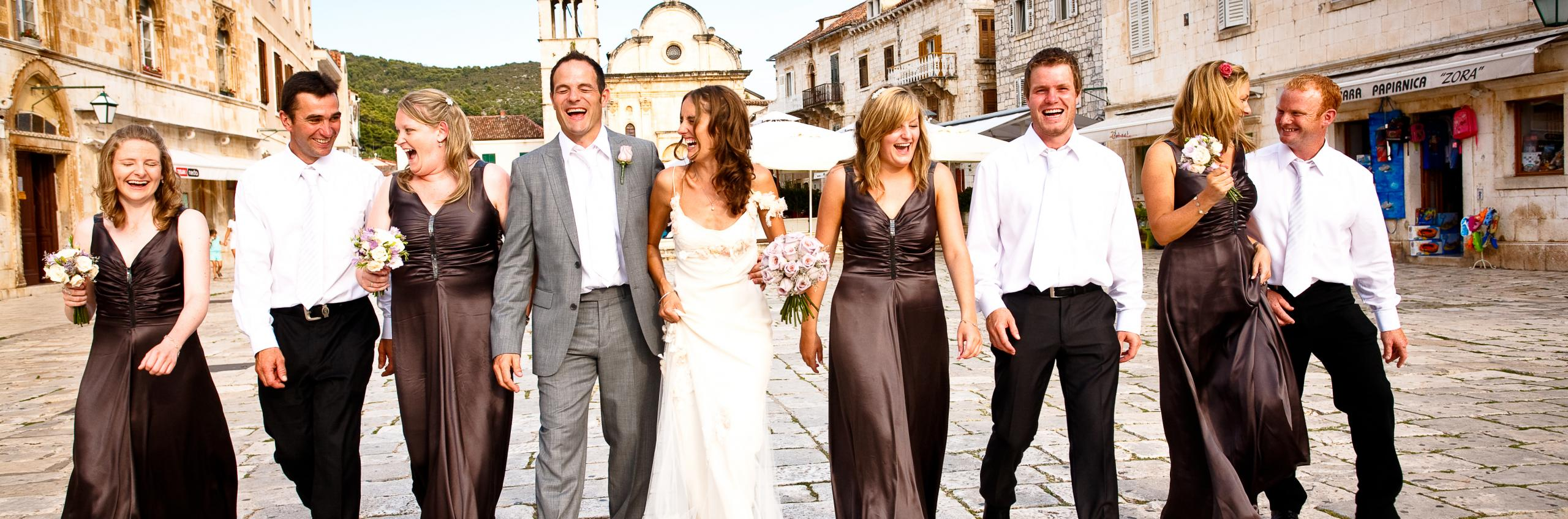 Destination wedding: Hvar