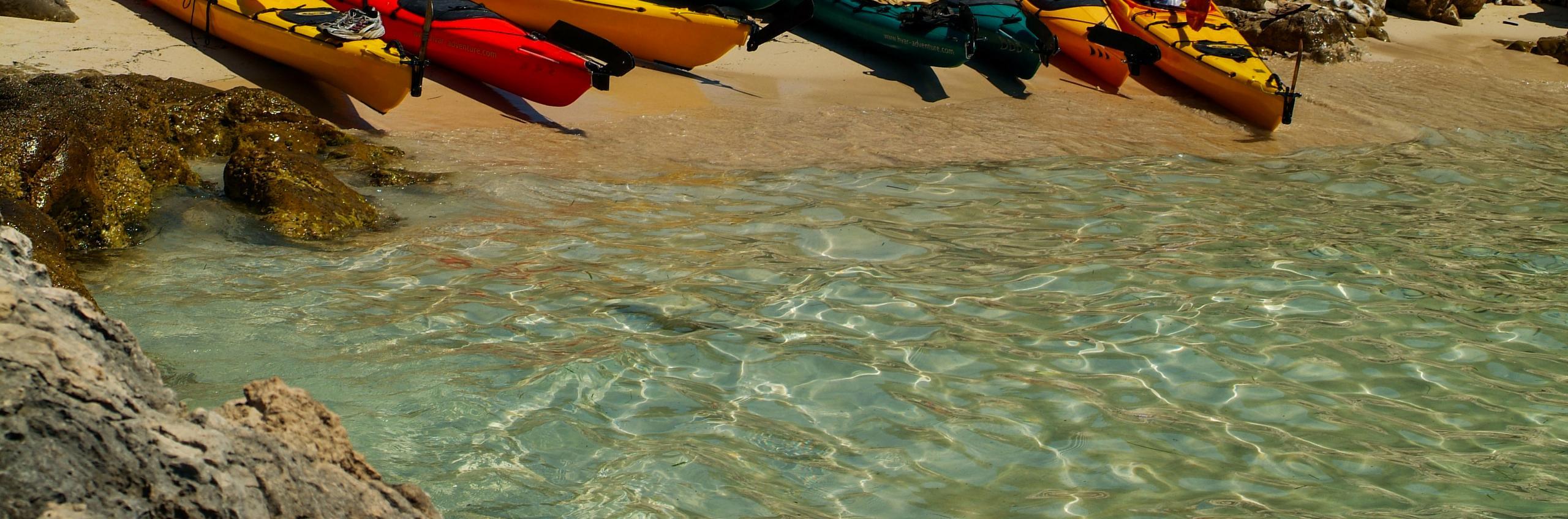 Kayaking through Paklinski islands!