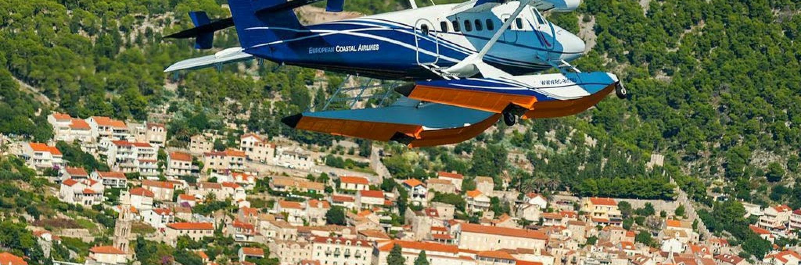 From Split to Hvar in 13 minutes