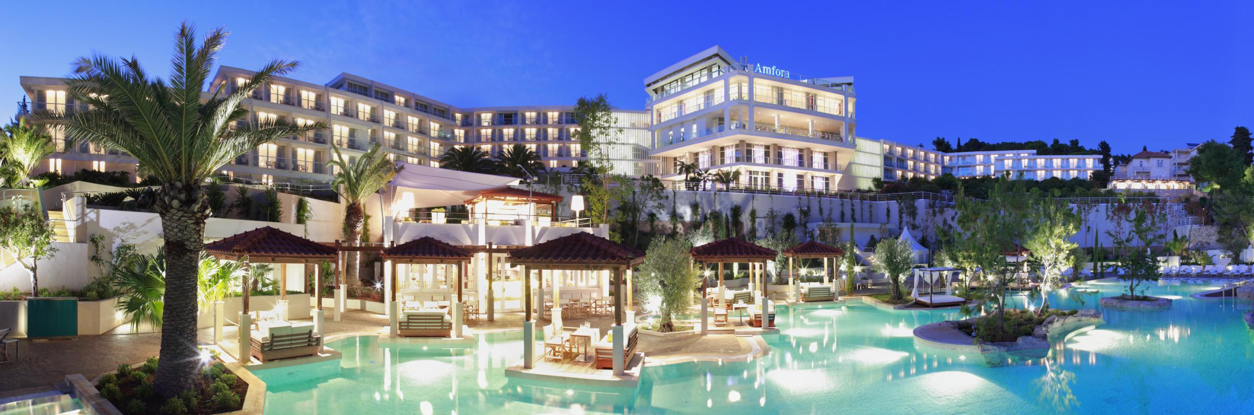 Amfora, grand beach resort- Hvar's #1 conference hotel