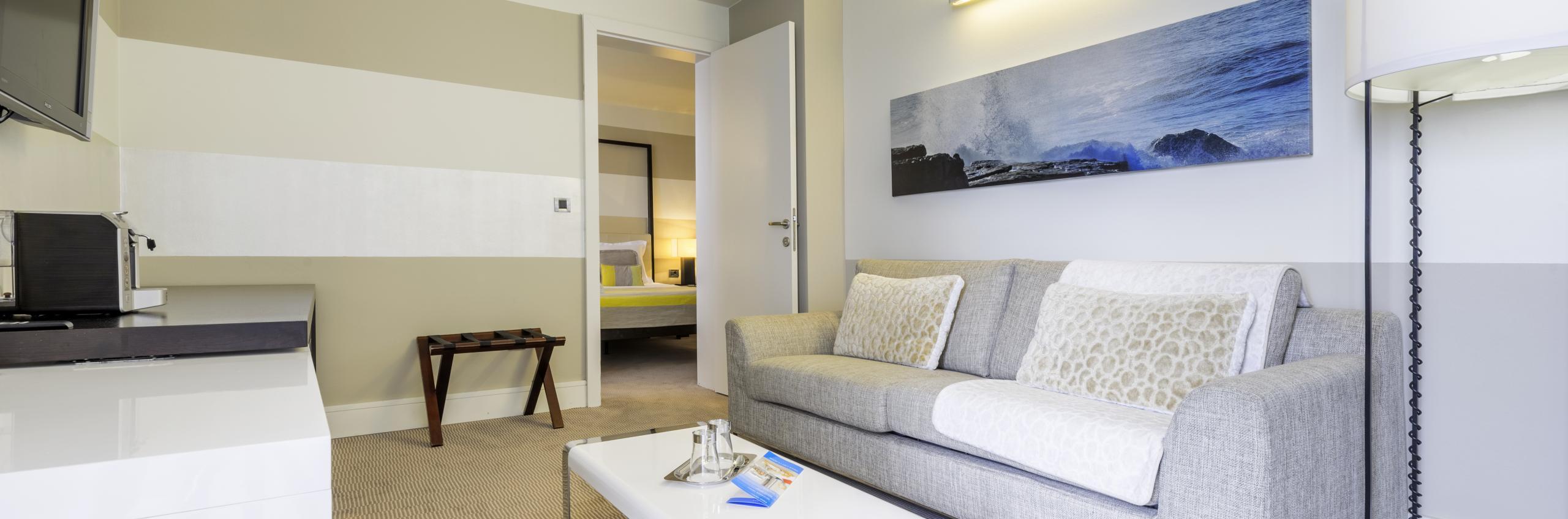 Deluxe suite s pogledom na more