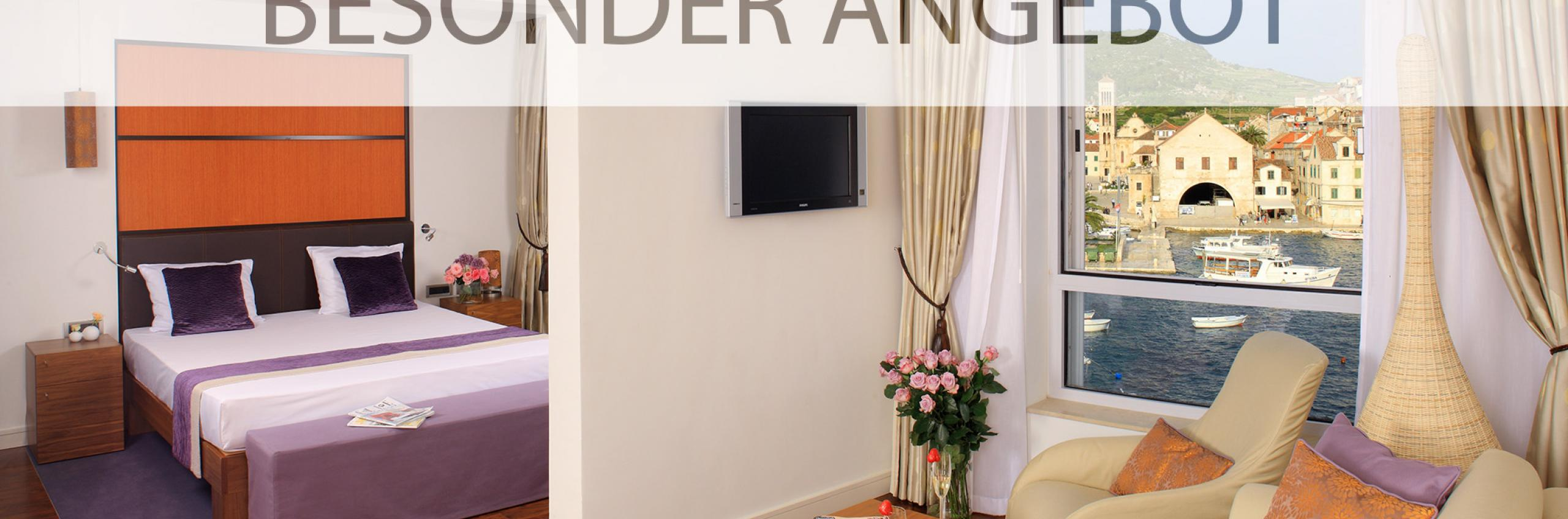 Adriana hvar spa hotel besondere angebote suncani hvar for Besondere hotels